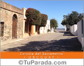 Tarjetas, postales: Casco Histórico de Colonia - Uruguay