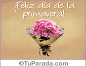 Tarjetas postales: Flores para la primavera