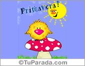Día de la Primavera - Tarjetas postales: ¡Muy feliz Primavera!