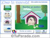 Tarjetas postales: Juegos de animales