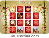 Tarjetas postales: Juego de Navidad