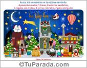 Tarjetas postales: Juegos de Navidad
