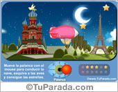 Tarjetas postales: Juego: Vuelta al mundo
