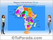 Mapa de África para armar