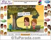 Tarjetas postales: Elige los personajes y envía una tarjeta especial.