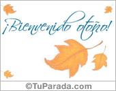 Tarjetas postales: Comenzó el otoño