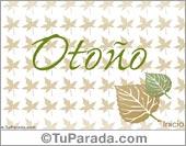 Tarjetas postales: Tarjeta de otoño