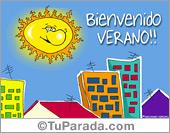 Tarjetas postales: Tarjeta de Verano