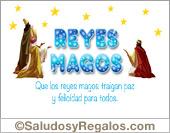 Tarjeta de Reyes Magos