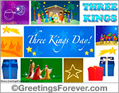 Three Kings ecard