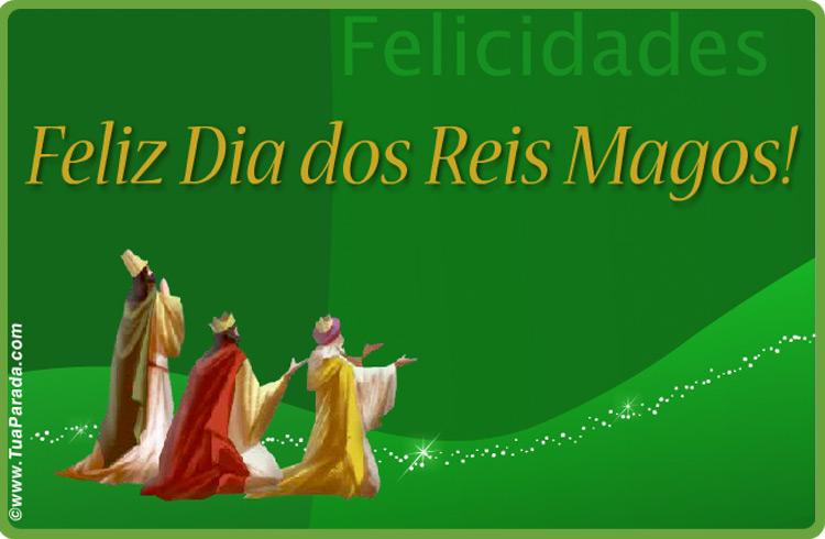 Cartão - Feliz Dia dos Reis Magos