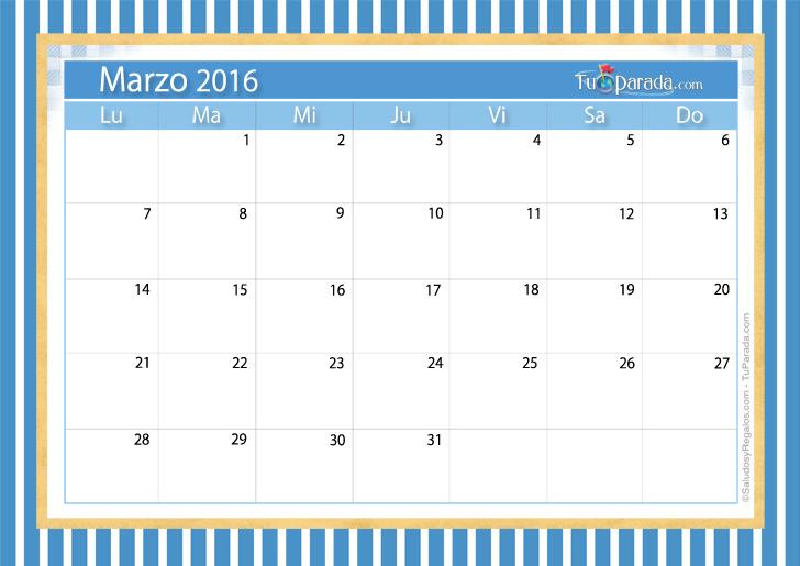 Almanaque 2016 Marzo Related Keywords & Suggestions - Almanaque 2016 ...