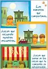 Tarjeta de situaciones. Comic 123A