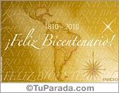 Tarjetas postales: Bicentenario