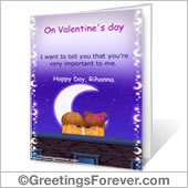 Printable cards: Valentine's Day