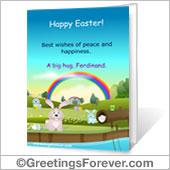 Printable Easter card