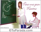 Tarjetas postales: Día del maestro