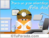 Tarjetas postales: Tarjeta de odontólogo