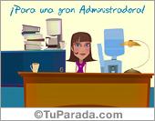 Tarjeta de Profesiones y trabajos