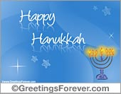 Greeting ecards: Happy Hanukkah!