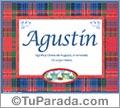 Agustín - Significado y origen