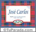 José Carlos - Significado y origen