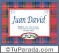 Juan David - Significado y origen