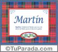 Martín - Significado y origen