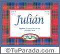 Julián - Significado y origen
