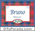 Bruno - Significado y origen