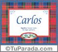 Carlos - Significado y origen