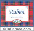 Rubén - Significado y origen