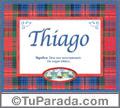 Thiago - Significado y origen