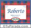 Roberto - Significado y origen