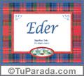 Eder - Significado y origen