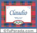 Claudio - Significado y origen