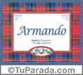 Armando, nombre, significado y origen de nombres