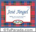 José Angel, nombre, significado y origen de nombres