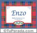 Enzo, nombre, significado y origen de nombres
