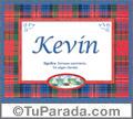 Significado y origen de Kevin para imprimir