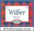 Wilber, nombre, significado y origen de nombres