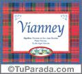 Significado y origen de Vianney para imprimir
