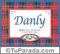 Danly, nombre, significado y origen de nombres