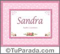 Sandra - Significado y origen