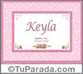 Keyla - Significado y origen