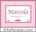 Marcela - Significado y origen