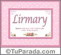 Lirmary - Significado y origen