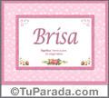 Brisa - Significado y origen
