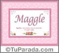 Maggle - Significado y origen