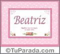 Beatriz - Significado y origen